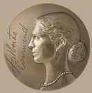 Gilberte_Cournand_medaille