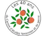 logo40ans-CentreETudesfeminines